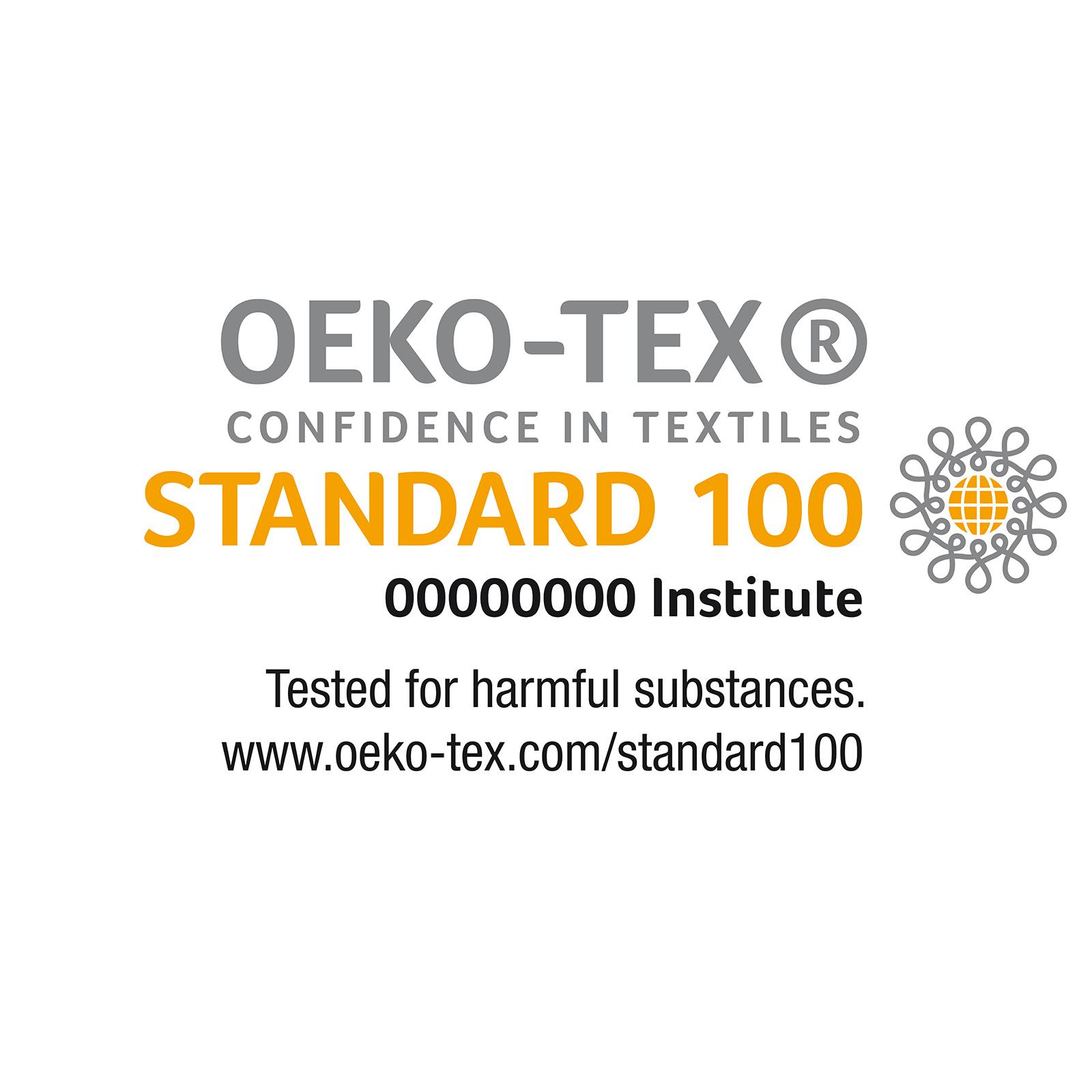 OEKO TEX-STANDARD 100: La certificazione OEKO-TEX® STANDARD 100 permette il controllo di centinaia di sostanze regolamentate.